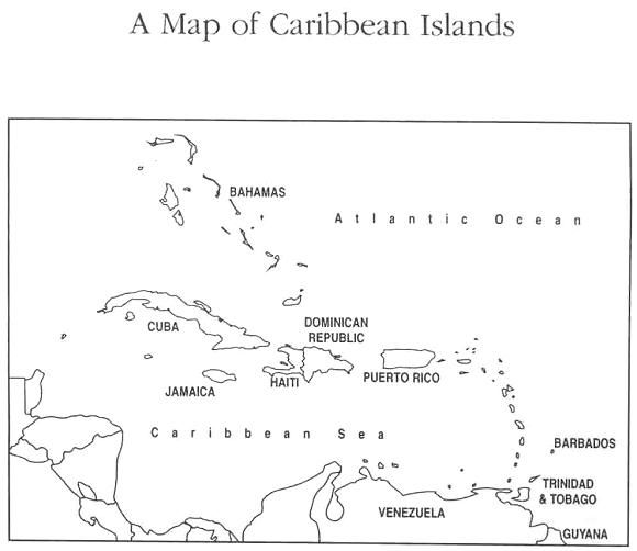 photograph regarding Printable Map of Caribbean Islands known as map of.caribbean printable our untold reports is a collection