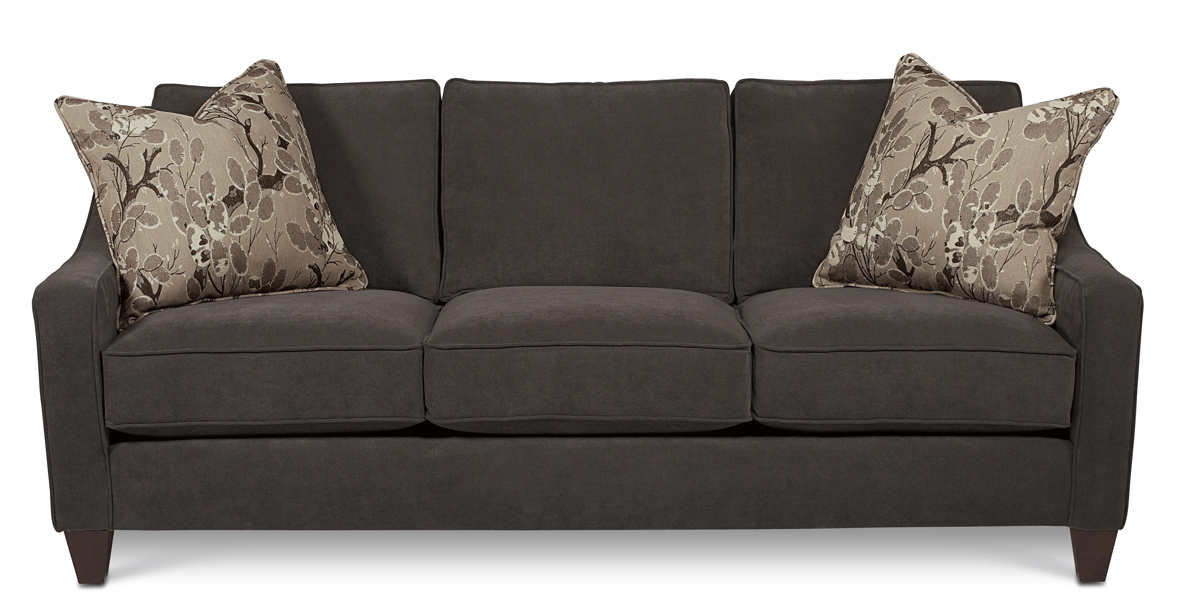 Best 79901 Casual Three Cushion Sofa With Accent Pillows By 400 x 300