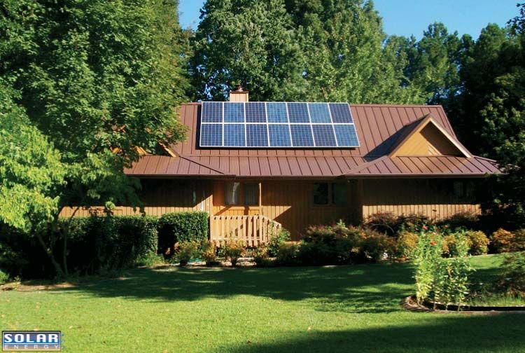 Solar panels and metal roof Solar panels for home, Solar