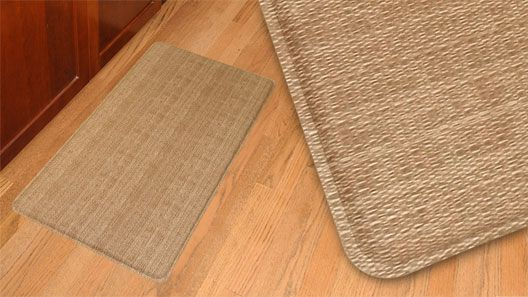 kitchen padded mats remodel small gelpro wicker saddle gel filled comfort floor and cushion mat