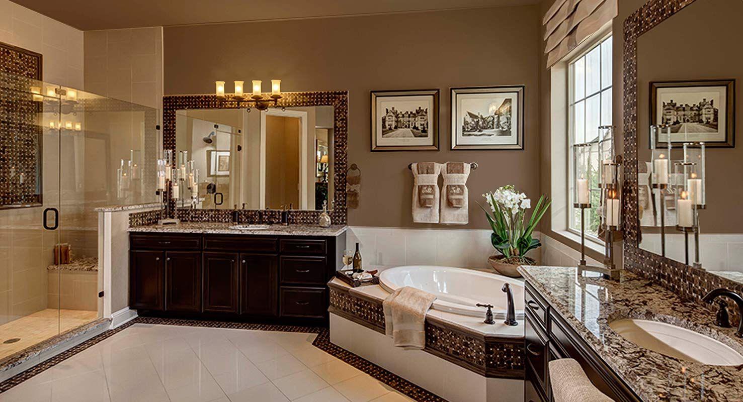 POSSIBILITIES FOR DESIGN | Master Bath | Model Home Design ... on Model Bathroom Ideas  id=91518