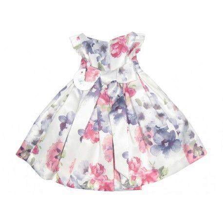 0b389aa320d Vestido de flores para niña Marca Magnífica Lulú