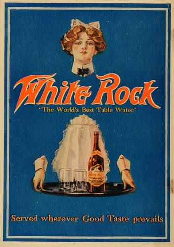 1912 Ad White Rock Mineral Springs Carbonated Water Original Advertising | eBay