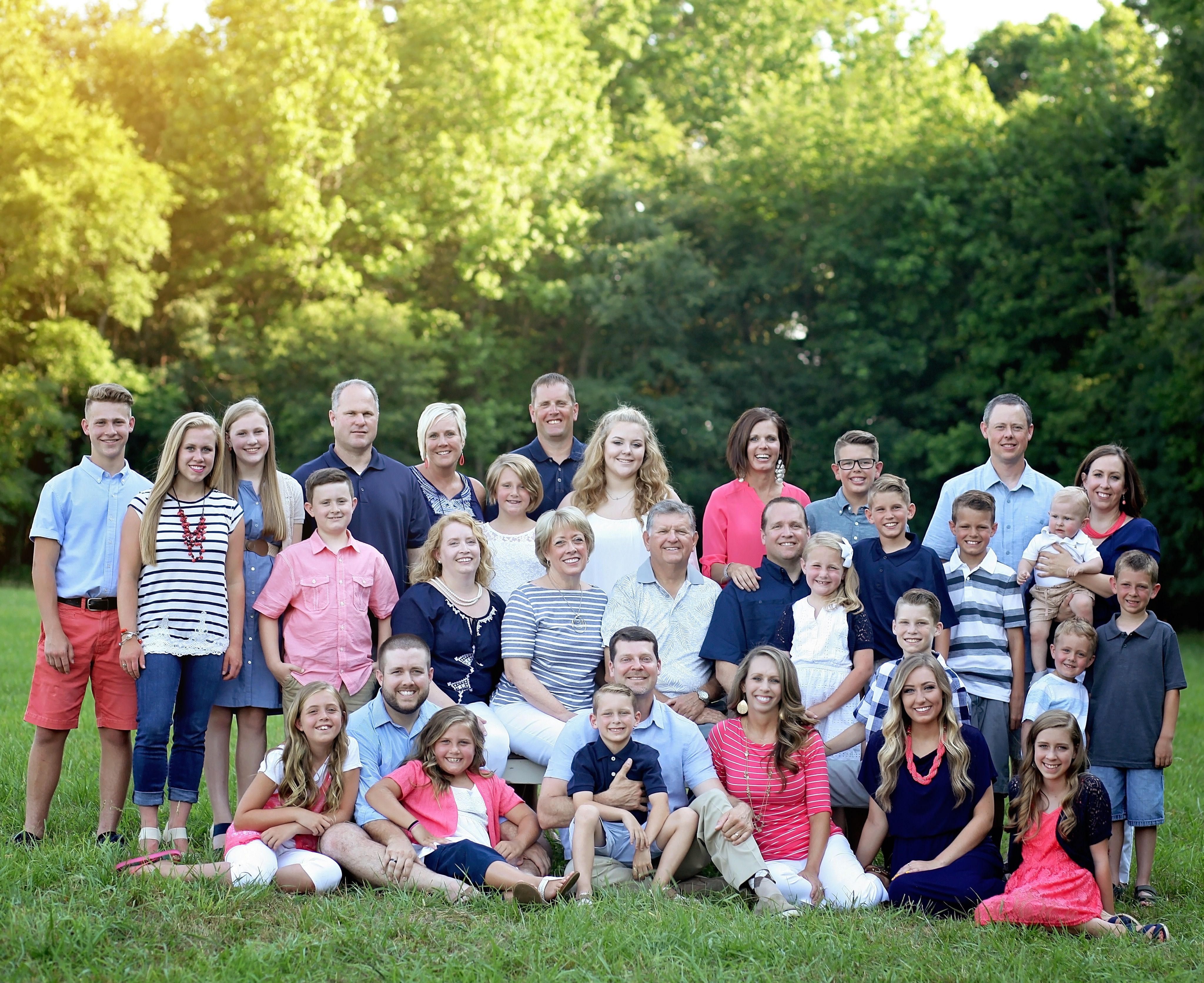 family pictures #family #colors #matching #love #colorcoordinating ...