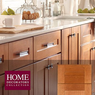Shop Our Selection Of Medium Brown, Kitchen Cabinets In The Kitchen  Department At The Home Depot.