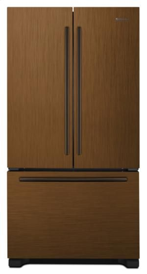 jennair oiled bronze 72 high cabinet depth french door refrigerator rh pinterest com