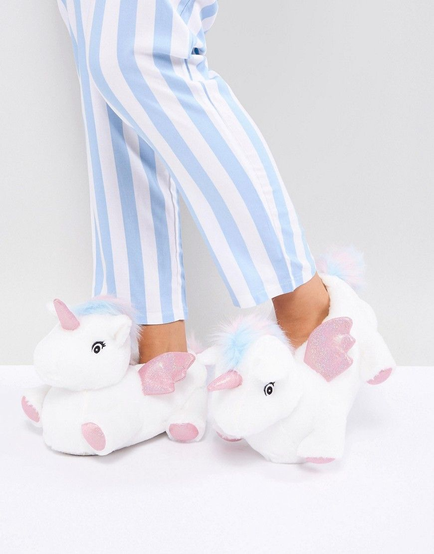 9a9da27ab9d0 NEW LOOK UNICORN SLIPPER - WHITE.  newlook  shoes