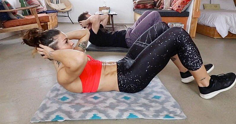 The Killer Towel Arms & Abs Workout You Can Do Anywhere