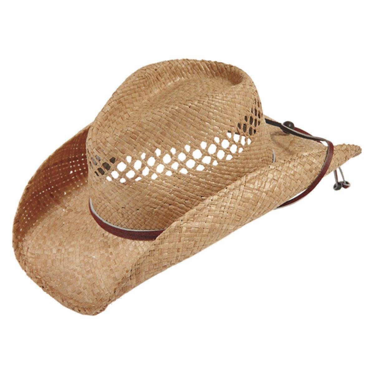32f8f7e5a3568 Stetson Bridger - Shapeable Straw Cowboy Hat