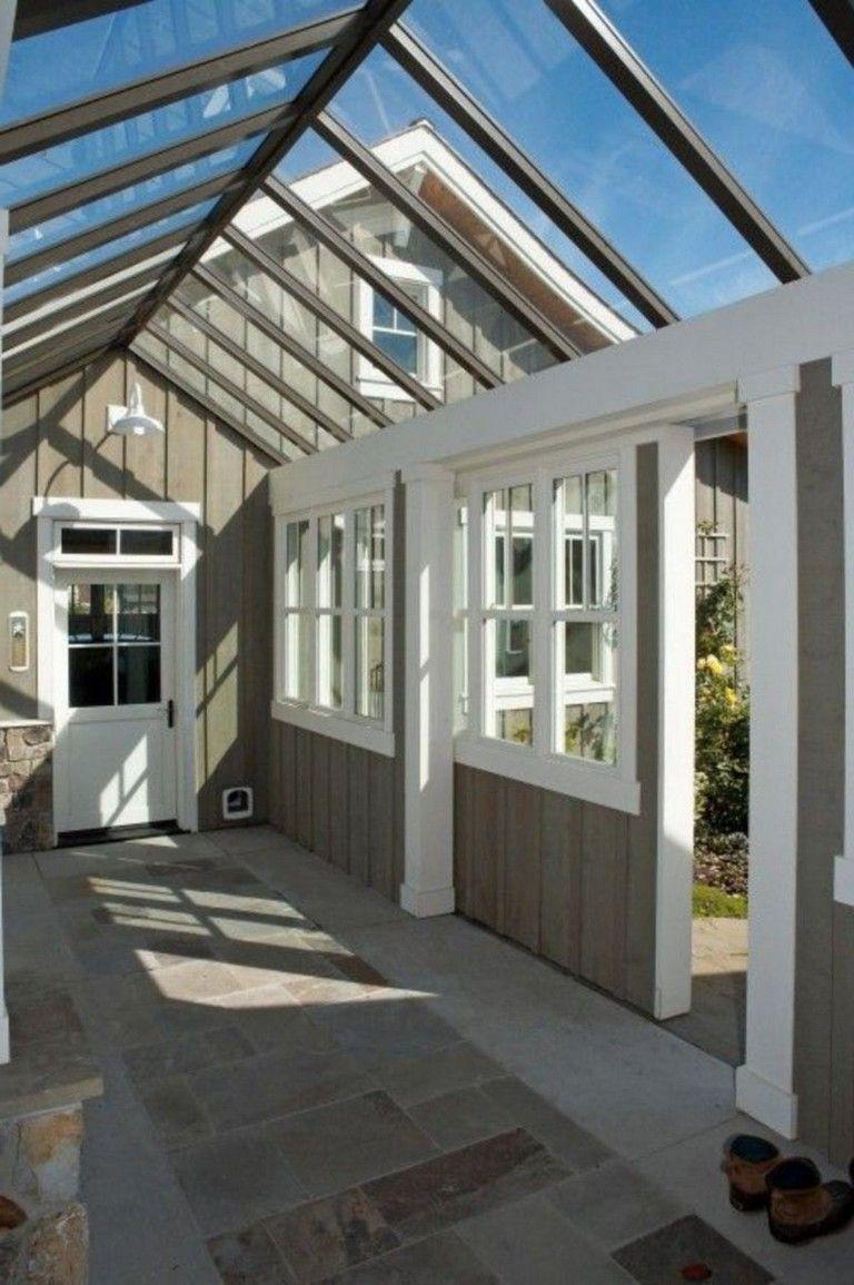 Greenhouse breezeway? Rustic greenhouses, Home