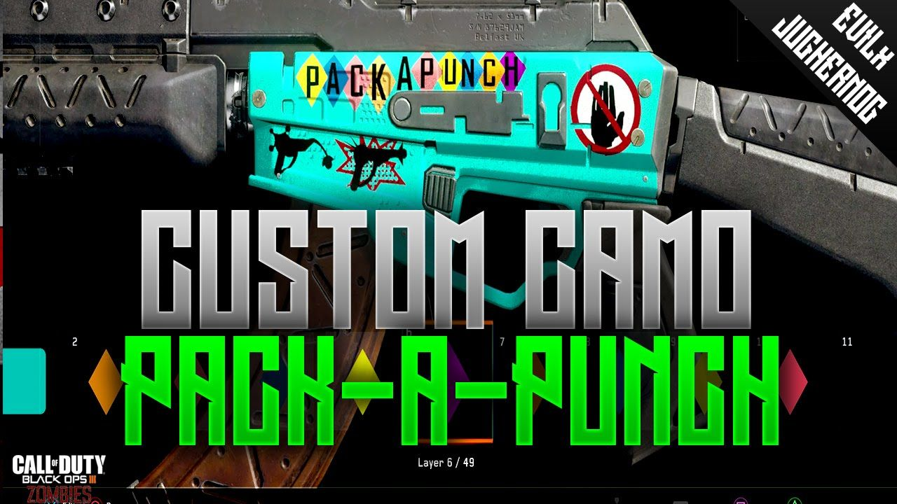 Pack A Punch Camo Paintjob Guide Create A Camo Black Ops