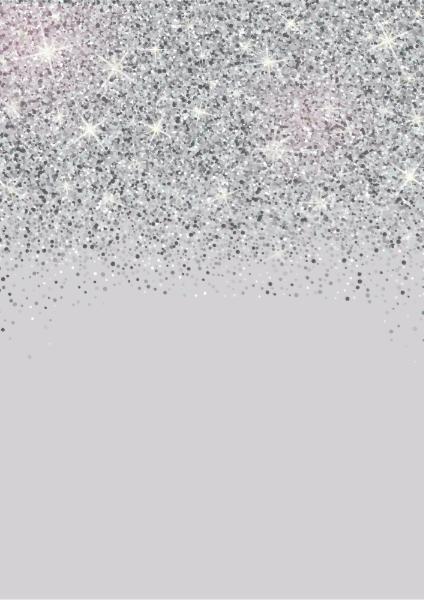 Sparkling Silver Glitter Wedding Invitations | Zazzle.com