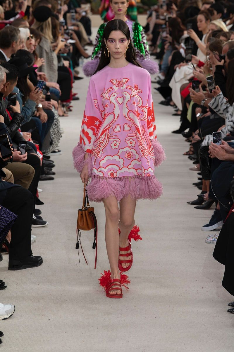 Valentino Ready To Wear Spring 2019 Look 49 Short Dress Styles Fancy Outfits Fashion