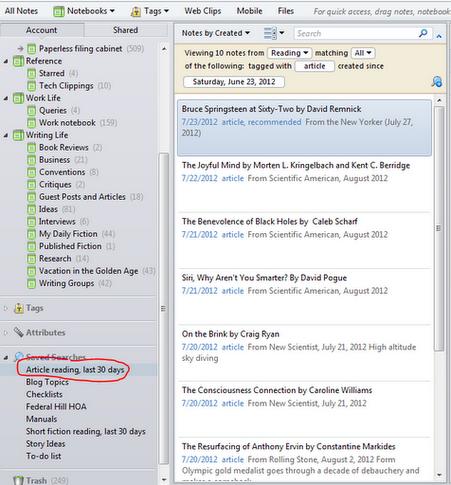 Going Paperless Paperless List Management Using Evernote Evernote Paperless Digital Organization