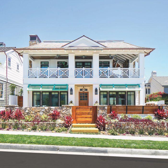 Tropical Beach House Interior: Caribbean Cool Vibes Brighten A California Home