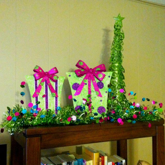 Whimsical Christmas Trees Ideas: A Hobby Lobby / Target Whimsical Christmas