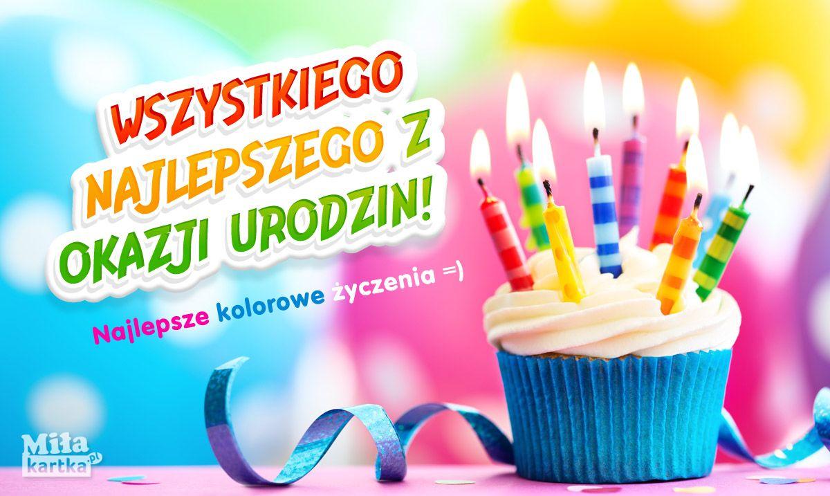 Wszystkiego Najlepszego Kartka Kartki Urodzinowe With Images