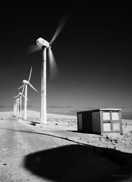 Windmills: by Egon Kronschnabel #Photography #Digital #Art #Documentary #Conceptual