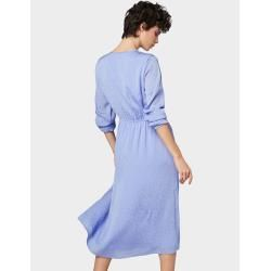 Photo of Tom Tailor Denim Abito longuette da donna, blu, tinta unita, taglia XL Tom TailorTom Tailor