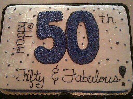 My moms 50th birthday cake....made by myself!