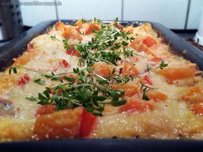 Die beste vegane Lasagne - Mit Hokkaido Kürbis und Hefeschmelz - Yammy :)