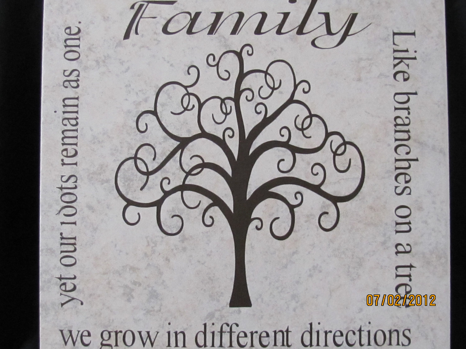 Granddaughter Qoutes And Poems Family Tree Quotes Poems Tan Tile