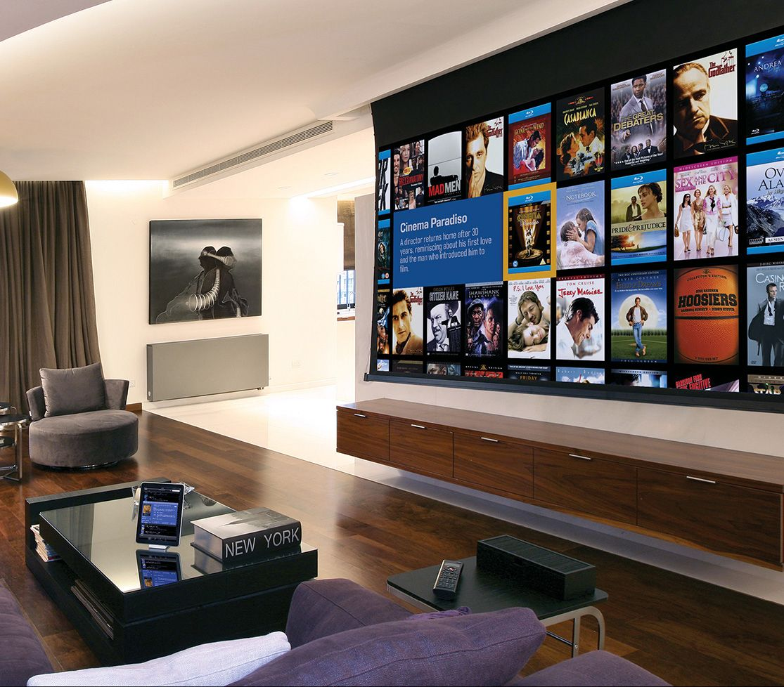 The Projector Screen Defines The Home Theater Experience