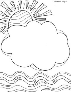 Name Templates Coloring Pages Kids Journal Beginning Of The School Year