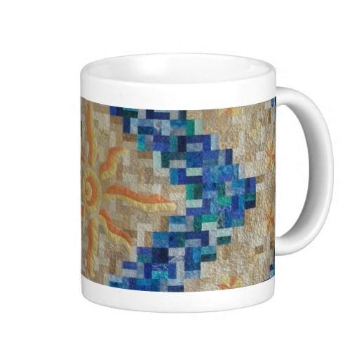 raffle quilt mug