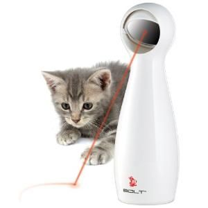 Oscar and Tama would LOVE this!! FroliCat BOLT Interactive Laser Pet Toy