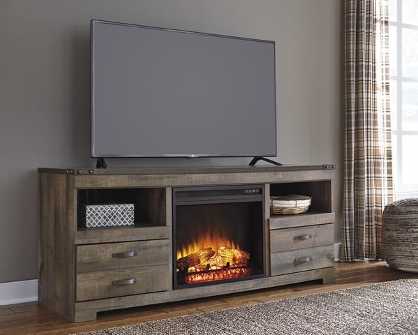 Trinell Fireplace Tv Stand Large Tv Stands Tv Stand