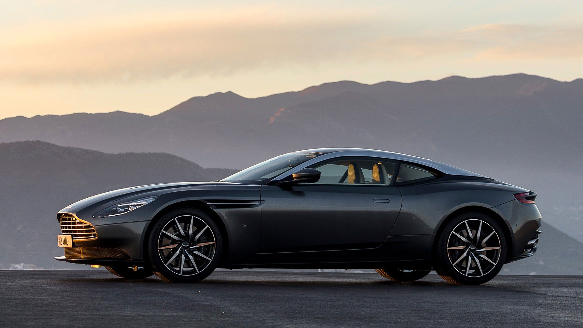 aston martin will let you take the db11 out for a spin. in tuscany