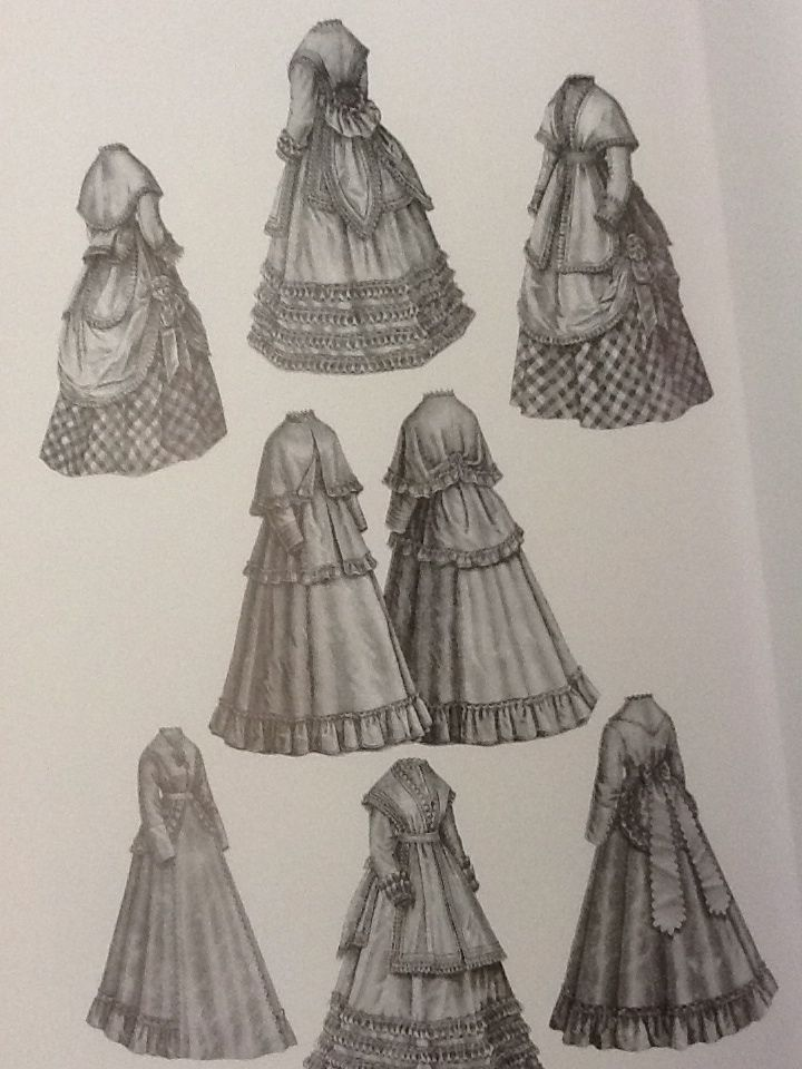 19th century fashion women 86