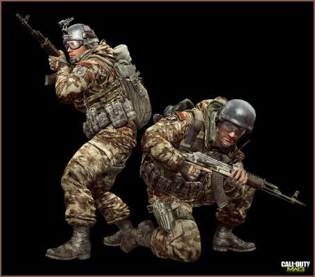 Cod Mw3 Spetsnaz Concept Art