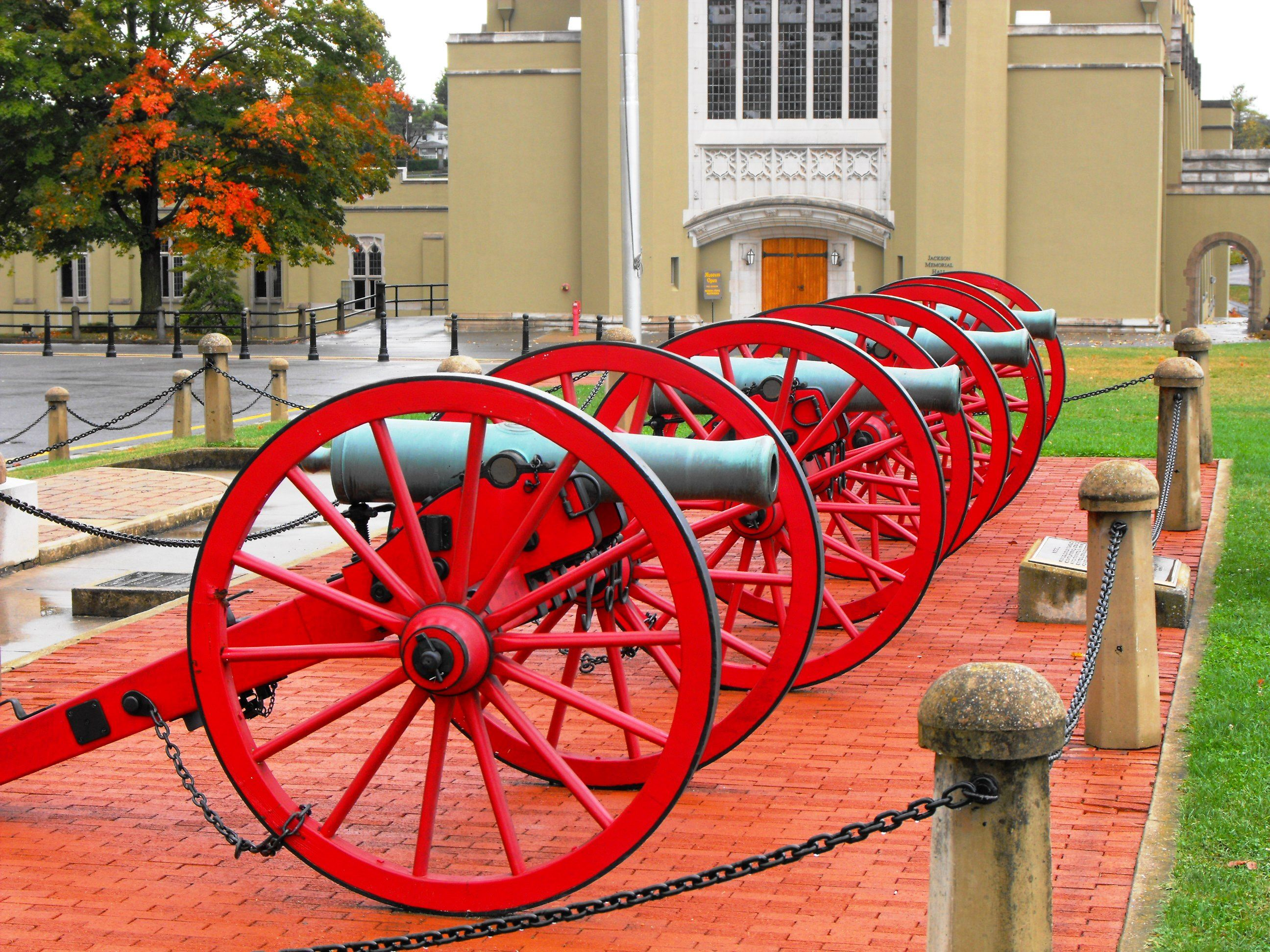 Cannons at VMI