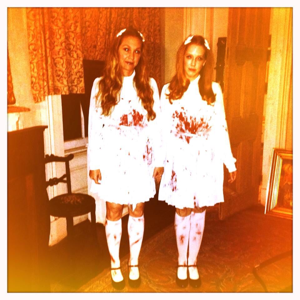 Great Halloween Costume. The Grady twins from The Shining by ...
