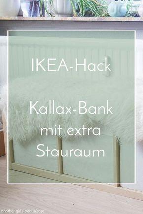 ikea hack sitzbank aus kallax regal haus einrichten pinterest kleine wohnung. Black Bedroom Furniture Sets. Home Design Ideas