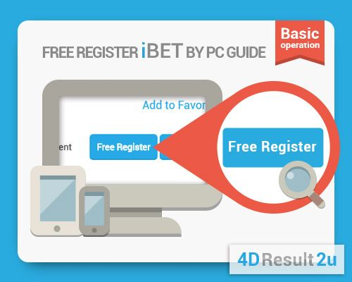 Malaysia Online 4D Betting Free Register as member Tutorial
