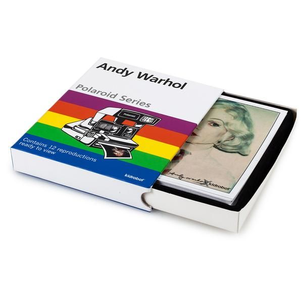 Andy Warhol Polaroid Imprimer Set de 12 Photos-Kidrobot
