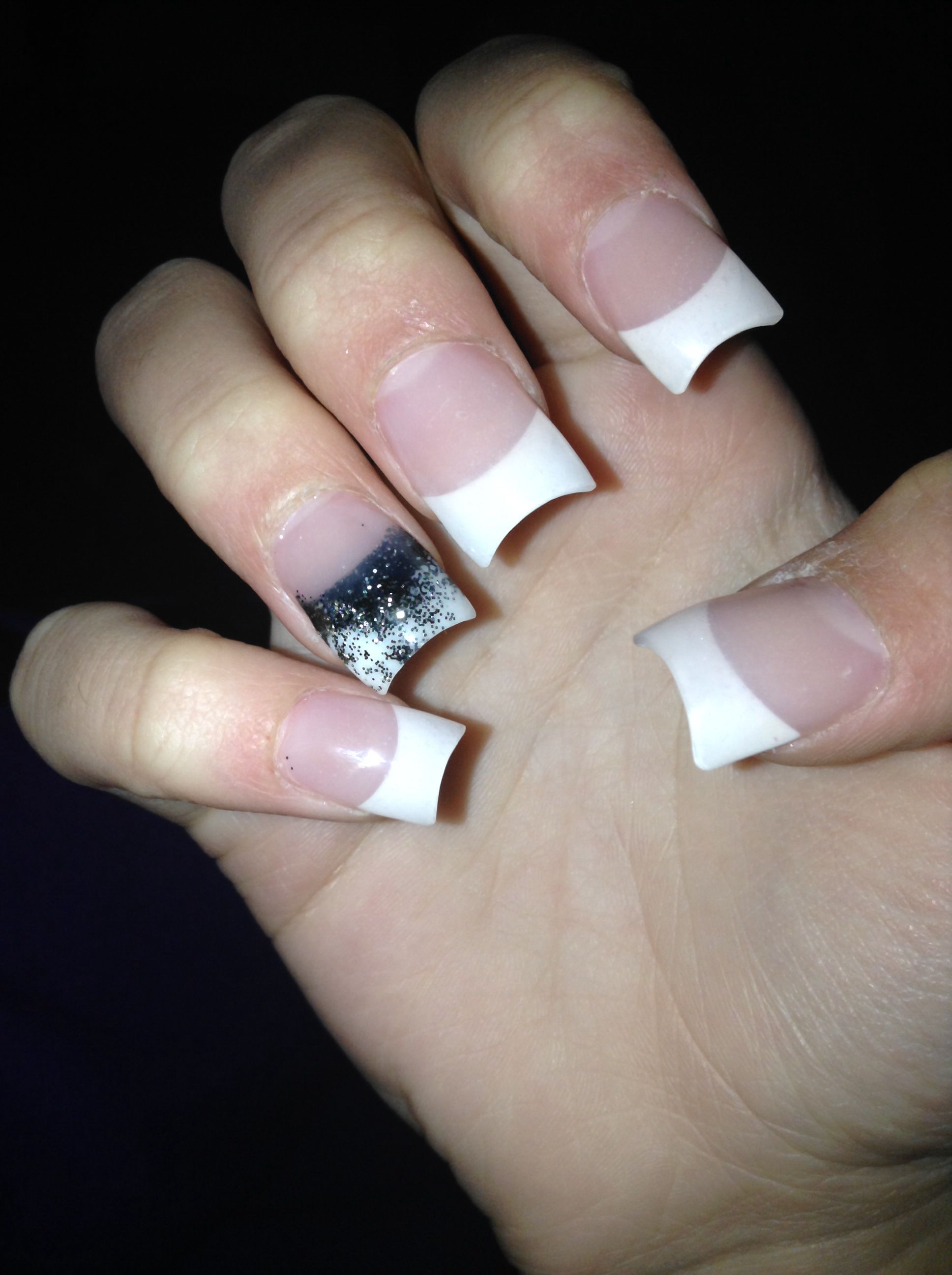 Cute Plain Nails Little Cly Acrylic Simple Nail Designs