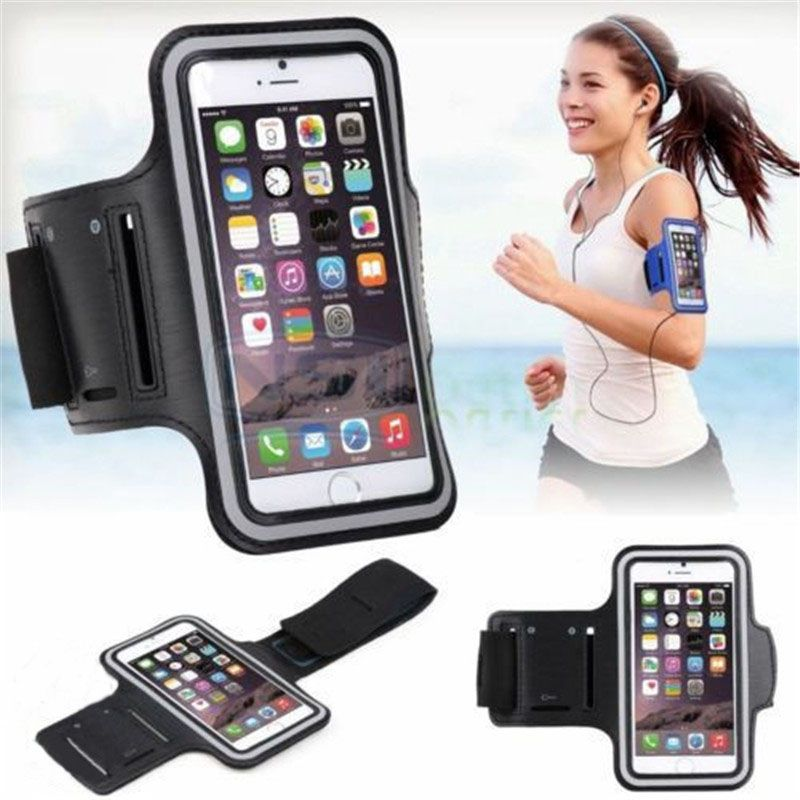 Shockproof Phone Holder Bag Outdoor Sports Key Jogging Waterproof Gym Protect Running Exercise Cycling Armband Case Lightweight Cellphones & Telecommunications Mobile Phone Accessories