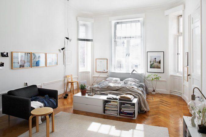 Un piso nórdico con mucho estilo y diáfano