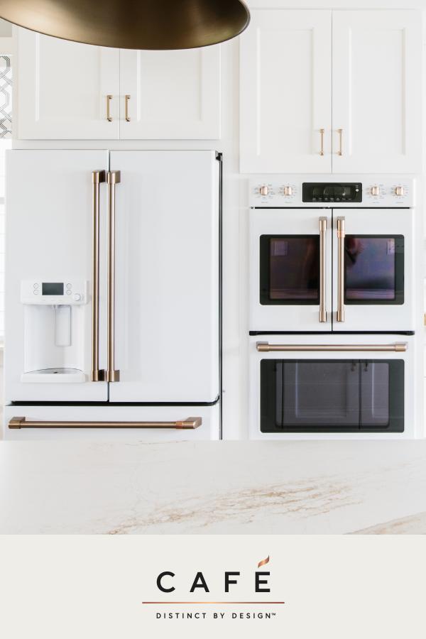 Matte White Finishes Set The Canvas And Our Distinct Line Of Customizable Hardwa White Kitchen Appliances Stainless Appliances Kitchen Interior Design Kitchen