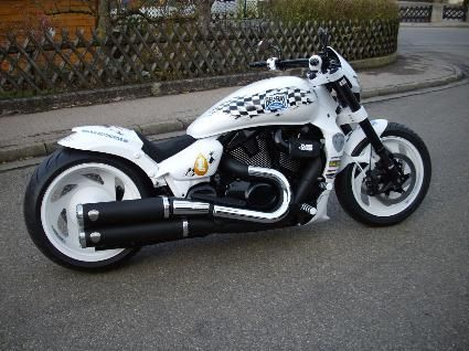 Umgebautes Motorrad Suzuki GSX 750 F Von Aus Oberosterreich Osterreich Baujahr