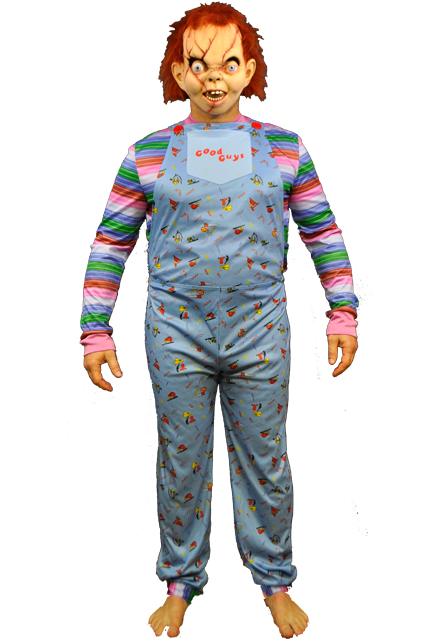 This officially licensed Chucky costume is inspired by the