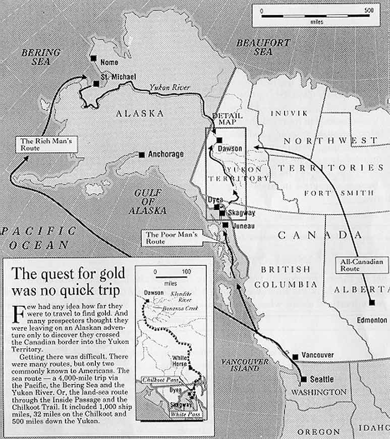 Gold Rush Routes & http://www.pinterest.com/pin/559783428654118877 ...