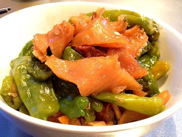 今日のししとうは当たりが多いわ - 104件のもぐもぐ - 牛スジとししとうの甘辛煮 by koji toyoda