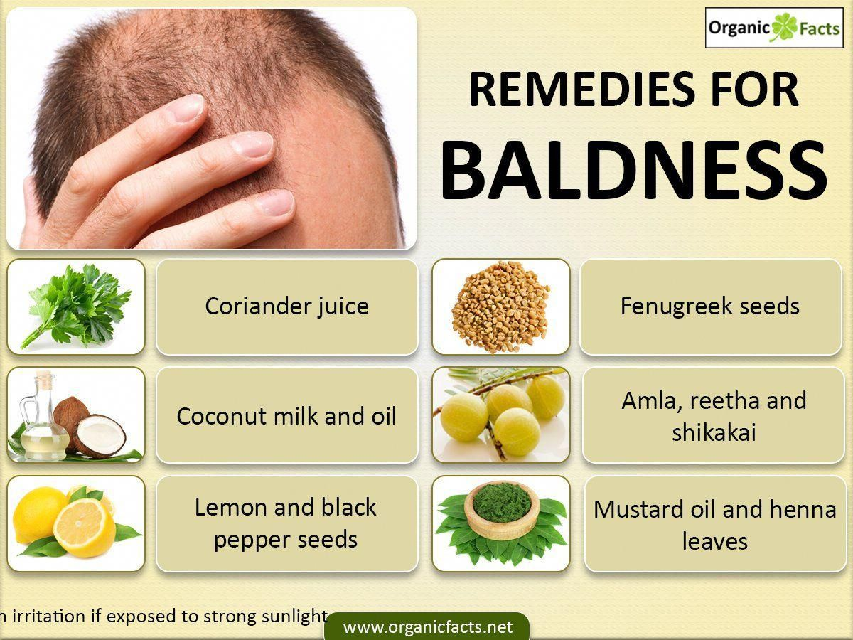 12 Best Home Remedies for Baldness Home remedies for