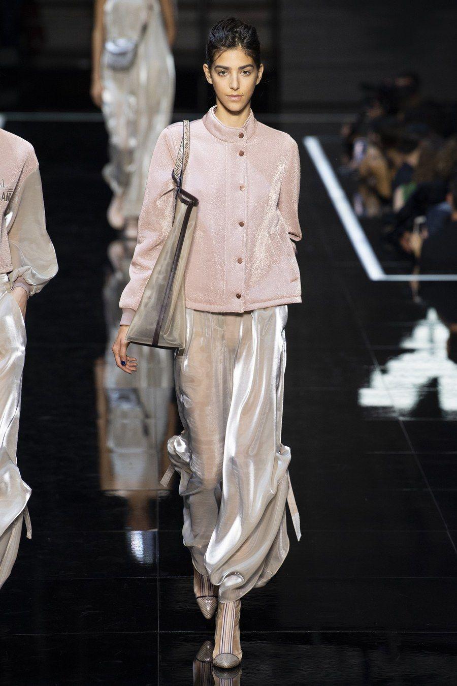Fashion week Armani emporio spring runway review for girls
