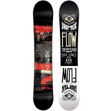 2014 FLOW DRIFTER All mountain Freestyle Snowboard have